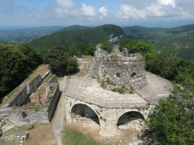 Анакопийская крепость. Новый Афон