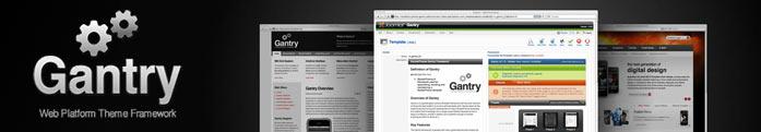 WordPress против Joomla: Шаблоны и темы gantry