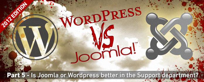 WordPress против Joomla: Поддержка и сообщества