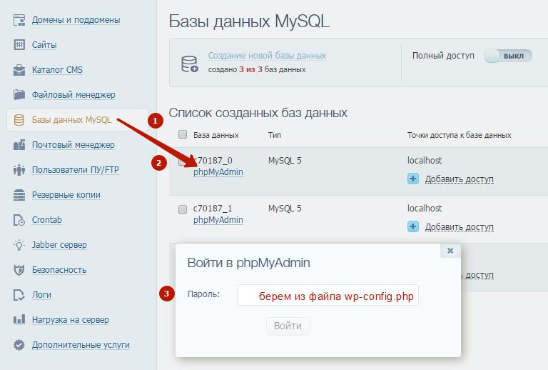 Как сделать копию домена 936